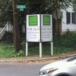 Real Estate Signs post panel outdoor real estate 150x150
